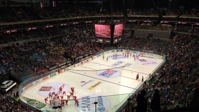 Česko-Rusko - Zápas začíná
