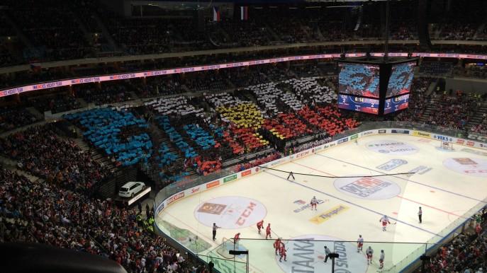 hokej Česko-Rusko