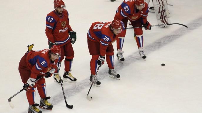 Hokej Česko Rusko 5.2.2015
