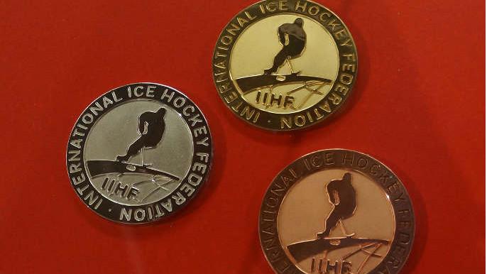 medaile MS v hokeji